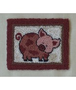 Pink Pig Punchneedle kit Rachel's of Greenfield - $13.50
