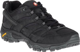 Merrell Moab 2 Smooth Hiking Boot (Men's) in Black Leather/Mesh - NEW - $122.81