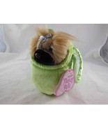 Aurora World Fancy Pals Plush Pug Purse Pet Carrier Best Friends - $6.92