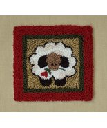 Round Sheep Punchneedle kit Rachel's of Greenfield - $13.50