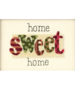 Home Sweet Home Punchneedle kit Dimensions - $9.00
