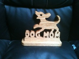 Wooden Dog mom display sign - $30.00