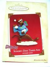 Hallmark Christmas Ornament Scooby Doo Takes Aim Snowball Fight 2003 War... - $9.85