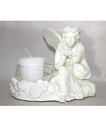 PartyLite Ariana White Fairy Candle Ceramic Tea-light Holder  - $16.95