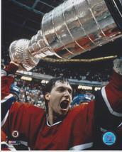Patrick Roy R Stanley Cup Montreal Canadiens Vintage 8X10 Color Hockey P... - $4.99