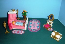 Vintage Playmobil Fairy Tale Castle  #3020 Royal Bed Chamber 100% /NR MT... - $40.00