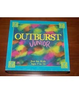 OUTBURST JUNIOR Board Game Parker Brothers 1989 COMPLETE