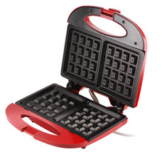 Waffle Maker in Red nonstick duo by FineLife - €14,67 EUR