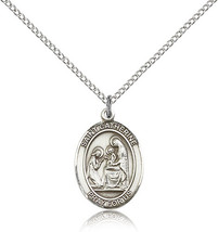 Women's Bliss Sterling Silver Patron Saint Catherine of Siena Medal Pendant  - $49.50