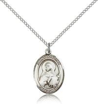 Women's Bliss Sterling Silver Patron Saint Dorothy Medal Pendant 8023SS/18SS - $49.50