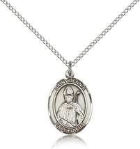 Women's Bliss Sterling Silver Patron Saint Dennis Medal Pendant  - $49.50