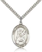 Men's Bliss Sterling Silver Patron Saint Frances of Rome Medal Pendant  - $52.00