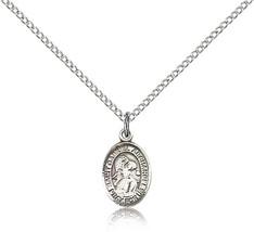 Bliss Small Sterling Silver Patron Saint Gabriel the Archangel Medal Pendant  - $42.50