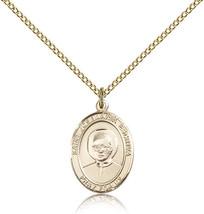 Women's Bliss Gold Filled Patron Saint Josemaria Escriva Medal Pendant  - $100.50