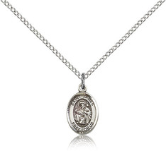 Bliss Small Sterling Silver Patron Saint James the Greater Medal Pendant For  - $42.50