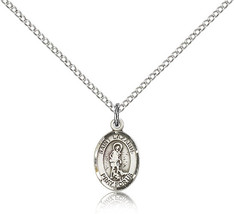 Women's Bliss Small Sterling Silver Patron Saint Lazarus Medal Pendant  - $42.50