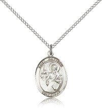 Bliss Sterling Silver Patron Saint Matthew the Apostle Medal Pendant For Wome - $49.50
