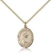 Women's Bliss Gold Filled Patron Saint Marcellin Champagnat Medal Pendant  - $100.50