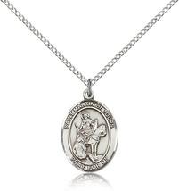 Women's Bliss Sterling Silver Patron Saint Martin of Tours Medal Pendant  - $49.50