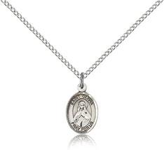 Women's Bliss Small Sterling Silver Patron Saint Olivia Medal Pendant  - $42.50