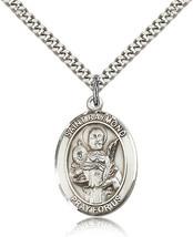 Men's Bliss Sterling Silver Patron Saint Raymond Nonnatus Medal Pendant  - $52.00