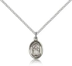 Women's Bliss Small Sterling Silver Patron Saint Sophia Medal Pendant  - $42.50