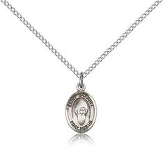 Women's Bliss Small Sterling Silver Patron Saint Sharbel Medal Pendant  - $42.50