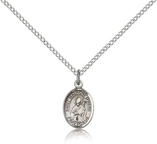 Primary image for Bliss Small Sterling Silver Patron Saint Malachy O'More Medal Pendant For Wom