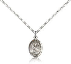 Bliss Small Sterling Silver Patron Saint Malachy O'More Medal Pendant Fo... - $42.50