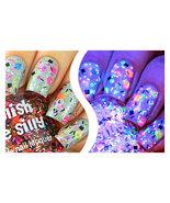 Polish Me Silly UV Blacklight Reactive Neon Glitter Nail Polish- TGIF - $12.50