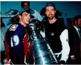 Joe Sakic Patrick Roy Stanley Cup Colorado Avalanche 11X14 Color Hockey ... - $15.95