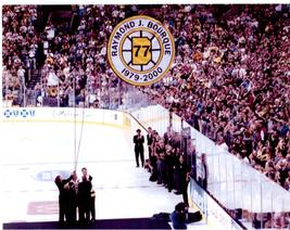 Ray Bourque Boston Bruins Hang Retirement Ceremony 2001 8X10 Color Hocke... - $6.99