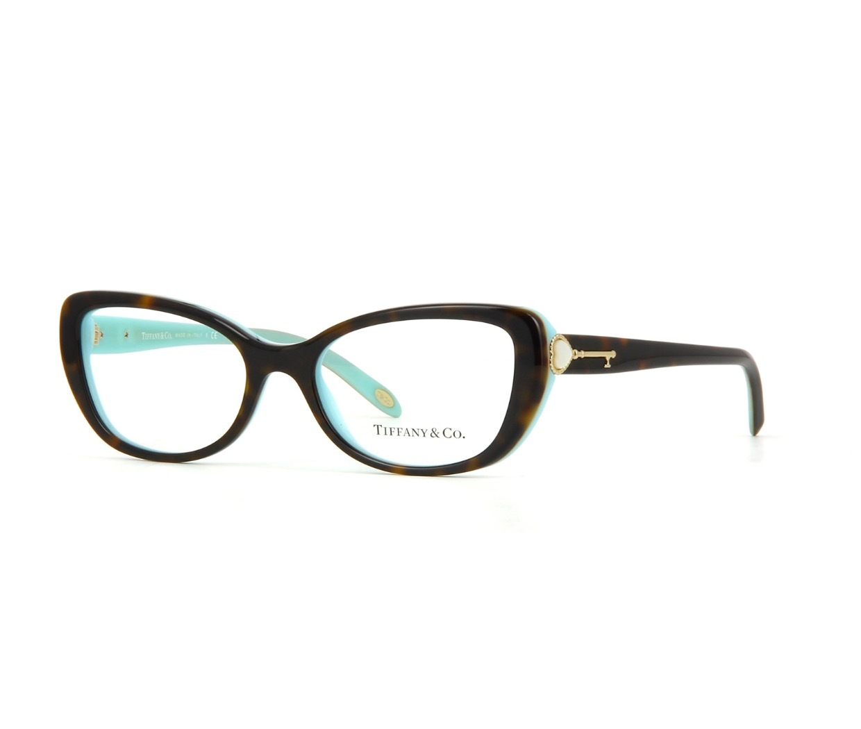 Tiffany Glasses Frames New York : New Authentic Tiffany & Co. TF2105H 8134 Tortoise Blue ...