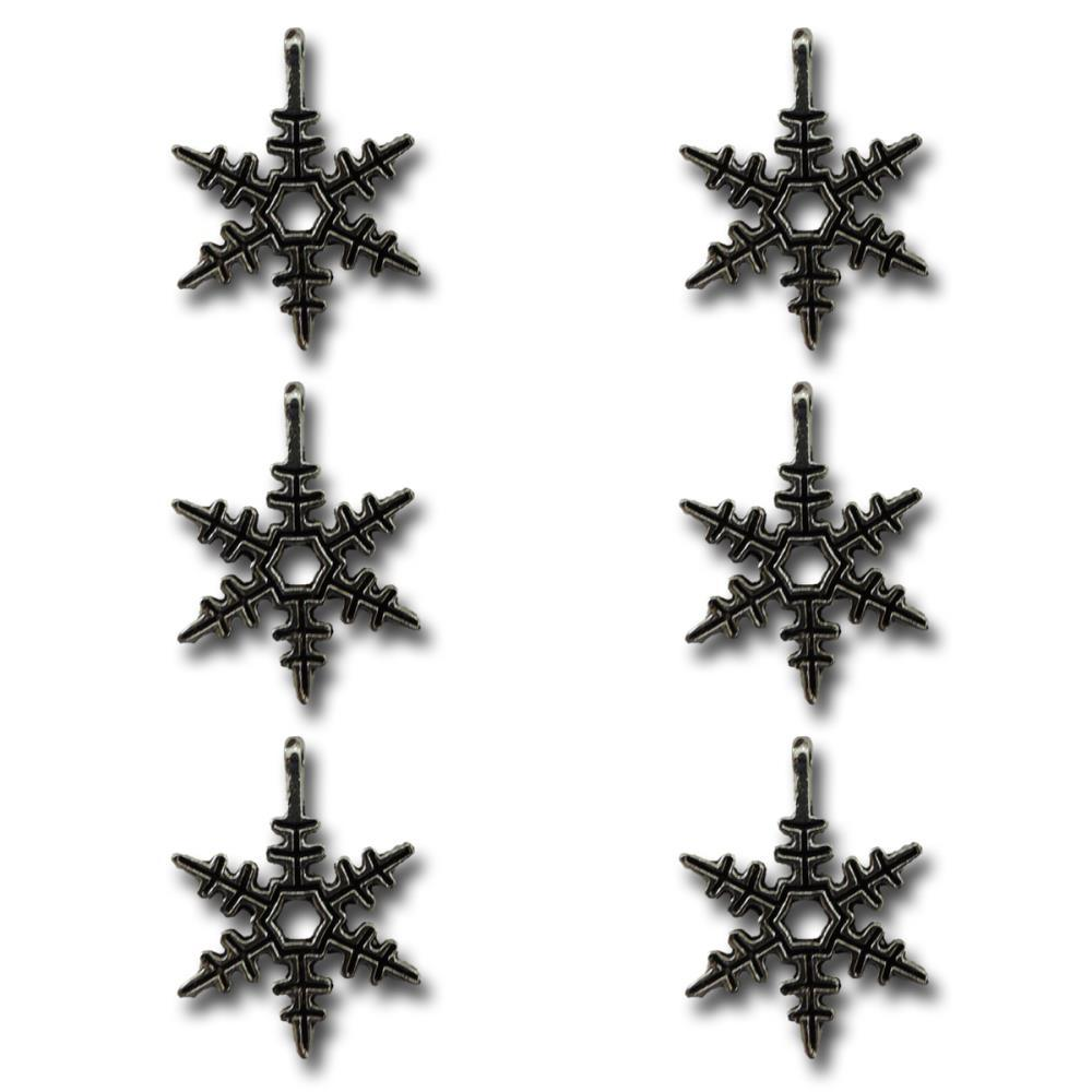 Silver bells snowflakes