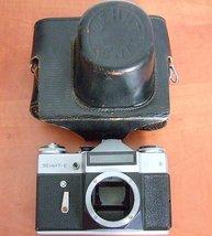 Zenit E Zenith Camera Film Body, Case, Olympus, Nikon, Metering working,... - $24.00