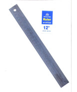 Nice Stainless Steel 12 Inch Ruler with Cork Back - $6.95