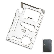 Multi-Function Credit Card Size Survival Pocket Tool (10 Pack) - $19.88