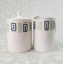 Style House Ironstone Index Cream and Sugar Mid Century Japan - $16.99
