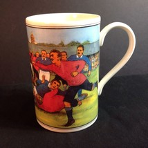 Dunoon Scotland Rugby Players Mug Cup History William Webb Ellis Footbal... - $29.21