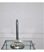 Vintage French Mid Century Modern Chrome Glass Table Lamp - $375.00
