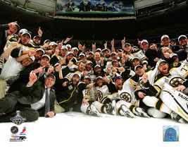 Boston Bruins 2011 Champs Celebration Vintage 8X10 Color Hockey Memorabi... - $6.99