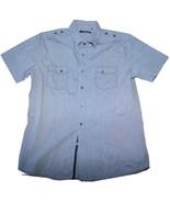 L679 Men shirt RED LEVEL NINE Size S - $7.95