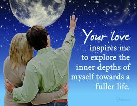 I Love You Valentine Anniversary Card: Explore Through Love - $5.00