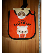 Carter Baby Clothes OSFM First Halloween Baby Feeder Bib New Holiday Acc... - $3.16