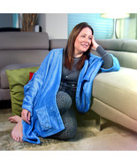 MagicWrap - Cuddle Fleece Sky Blue Wrap Poncho Cape Blanket for Love and Support - $37.95