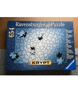 Ravensburgr  Silver Krypt Ultimate Challenge 654 pc 20 x 27 all pieces  - $32.29