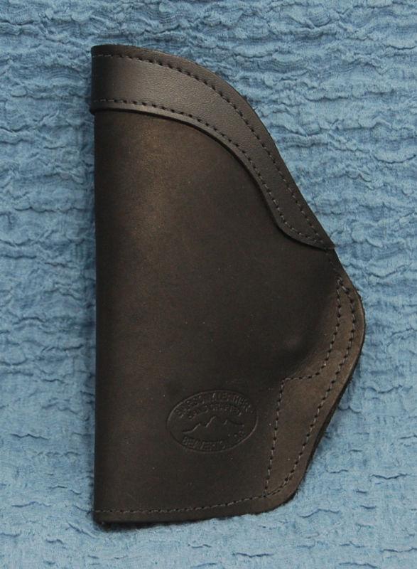 Barsony Black Leather IWB Holster Taurus MILLENNIUM PRO