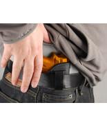 Barsony Black Leather IWB Holster Taurus TCP 738 .380 - $29.99
