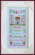 Spring Seasonal Celebrations cross stitch chart Country Cottage Needleworks - $7.20