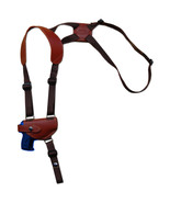NEW Barsony Burgundy Leather Shoulder Holster Kel-Tec Ruger MiniPocket 2... - $52.99